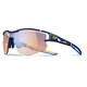 Julbo Aero Zebra Light Red Sunglasses Dark Blue/Blue/Yellow-Multilayer Blue